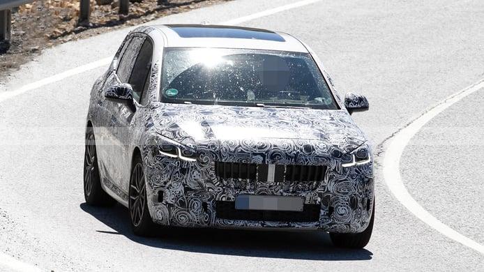 BMW Serie 2 Active Tourer 2022, la nueva generación se deja ver en el sur de Europa
