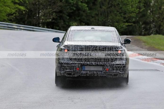 Foto espía BMW Serie 7 2023 en Nürburgring