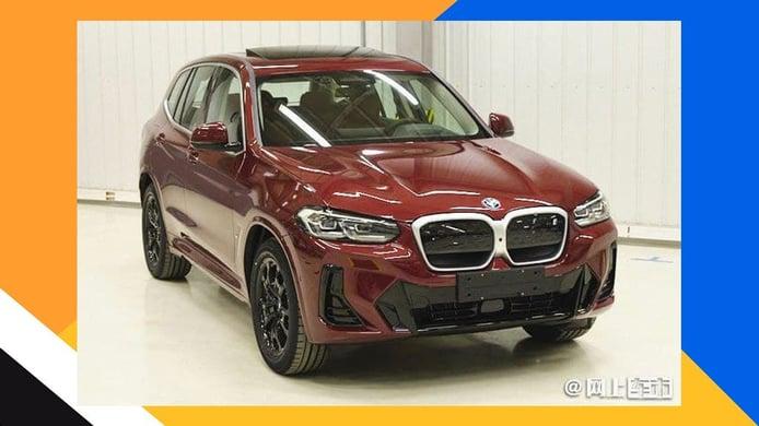 Filtración BMW X3 LCI 2022 - exterior