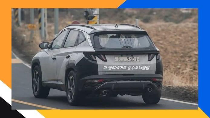 ¿El nuevo Hyundai Tucson N en camino? Una foto espía apunta al SUV deportivo
