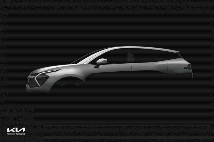 KIA desvela las primeras imágenes del interior y exterior del nuevo Sportage 2022