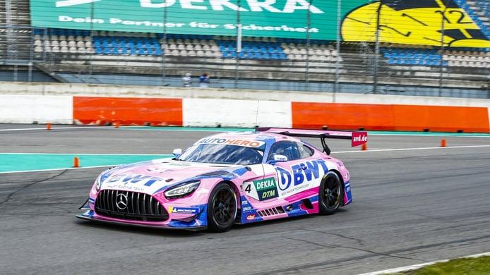 Götz repite al frente en el segundo día del test DTM de Lausitzring