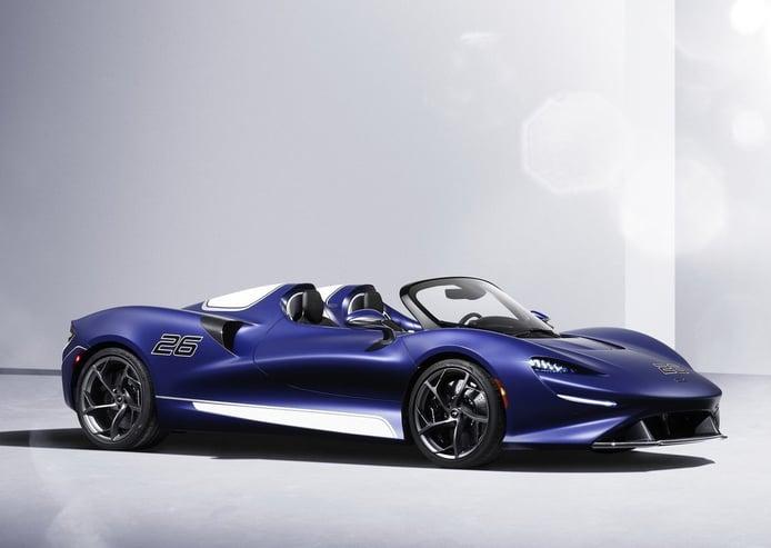 El McLaren Elva ahora es un atractivo roadster gracias a su nuevo parabrisas de carbono