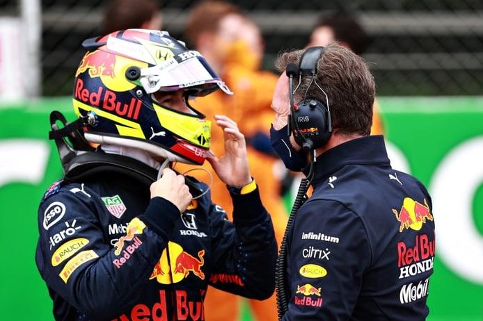 Mensaje de Red Bull a Pérez: «Necesitamos desesperadamente que esté delante»