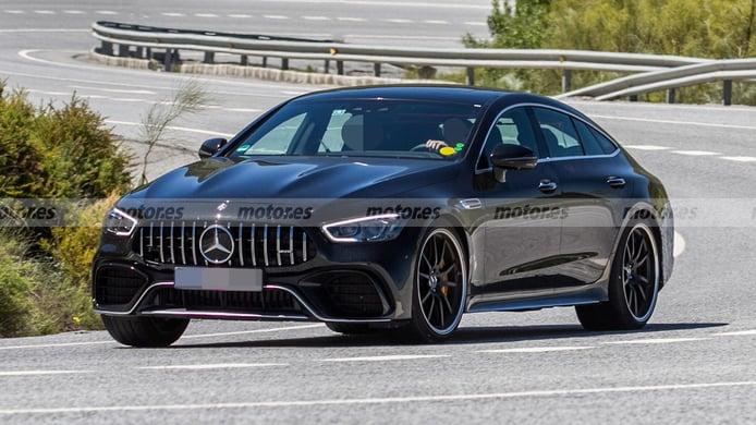 El Mercedes-AMG GT 73 e 4MATIC Berlina ultima su desarrollo en el sur de Europa