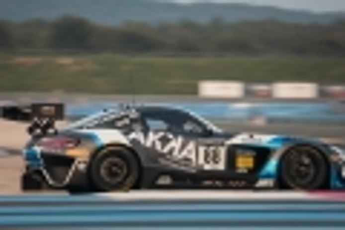 Los Mercedes de AKKA ASP y HRT mandan en los libres de Paul Ricard