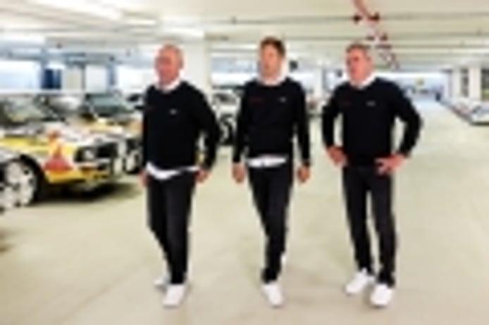 Sainz, Peterhansel y Ekström forman el 'Dream Team' de Audi en el Dakar