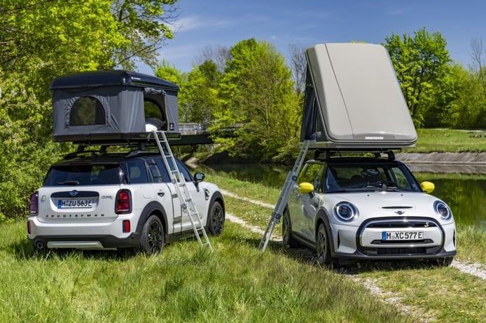 Los MINI Cooper SE, y Cooper SE Countryman, estrenan accesorios Camper