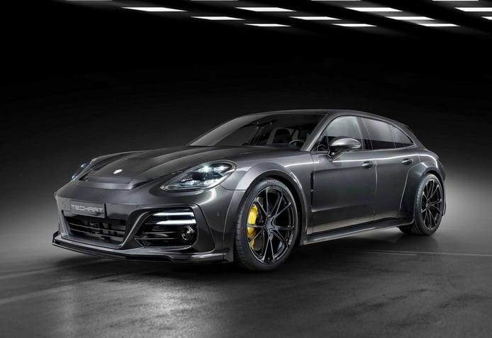 El Porsche Panamera mucho más agresivo y potente gracias a TechArt