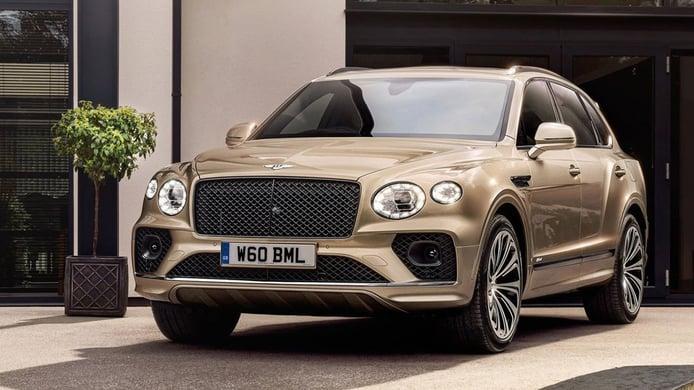 Bentley Bentayga Hybrid 2021, el renovado SUV híbrido enchufable ya tiene precio