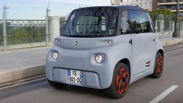 El Citroën Ami llega a España, gama y precios del nuevo coche eléctrico sin carnet