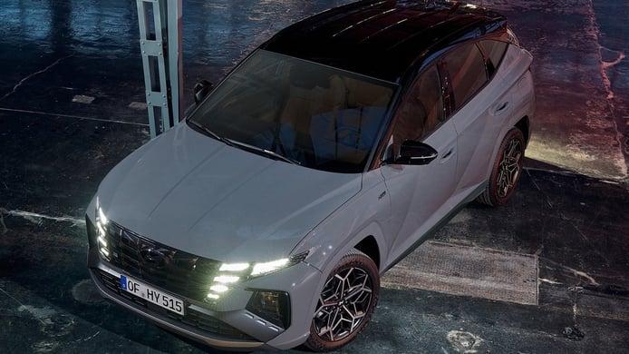 Hyundai Tucson N-Line, precios de la versión deportiva con etiqueta ECO