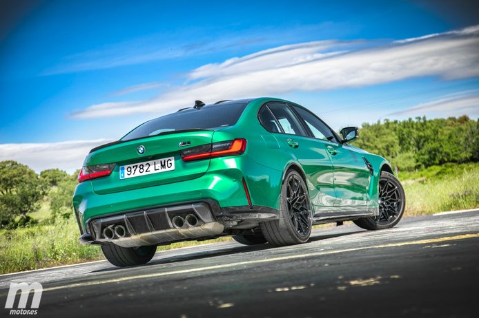 Prueba BMW M3 Competition, el Tomahawk del siglo XXI