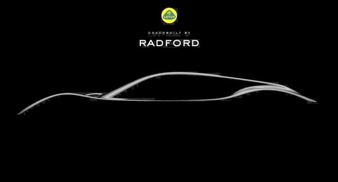 Radford pretende resucitar el Lotus Type 62 con la plataforma de aluminio del Evora