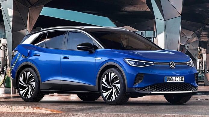 Europa - Abril 2021: El Volkswagen ID.4 lidera las ventas de eléctricos