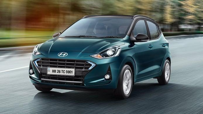 India - Abril 2021: El Hyundai i10 se cuela en el Top 10 de más vendidos