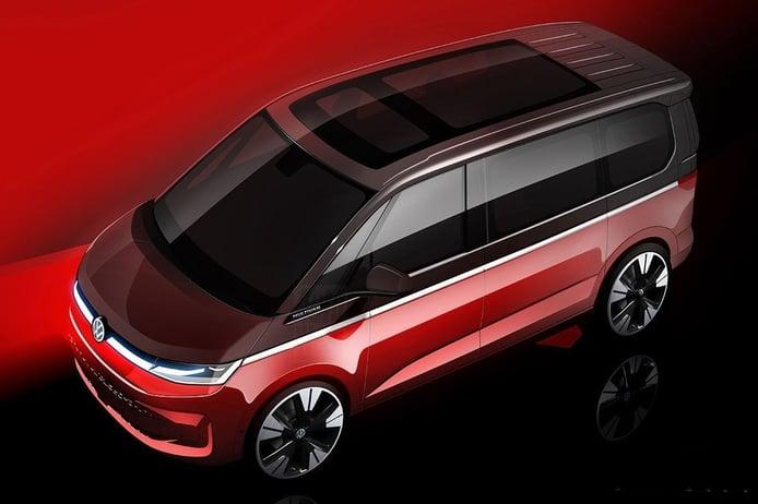 El nuevo Volkswagen Multivan 2022, prácticamente desvelado en un teaser más