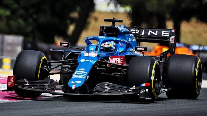 Alonso toma las riendas en Alpine: «Contento por cómo van las cosas»