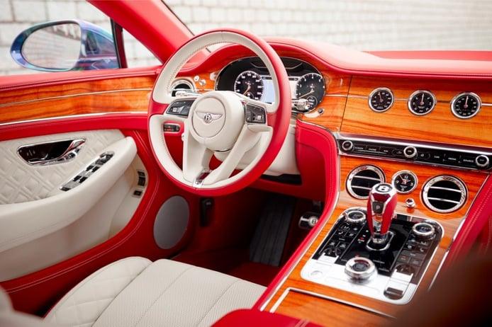 Foto Bentley Continental GT V8 Coupé - interior