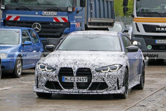 Nuevo vistazo más cercano al BMW M4 CSL 2022 en estas fotos espía