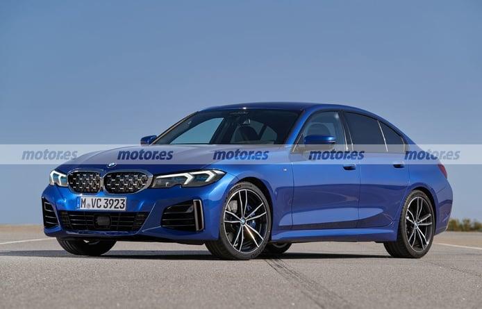 BMW Serie 3 LCI 2023, el facelift de un superventas adelantado en esta recreación