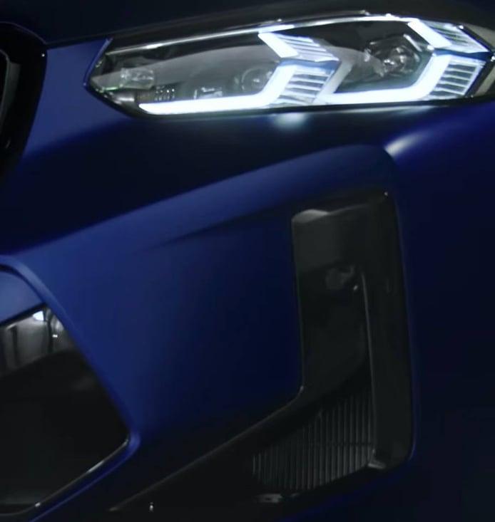 Un primer teaser revela el frontal de los BMW X3 M LCI y BMW X4 M LCI 2022