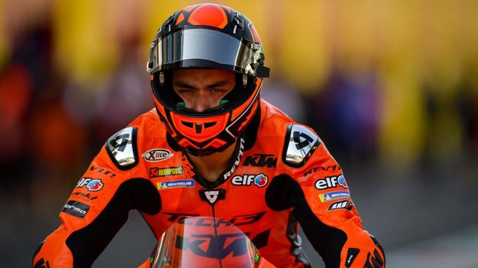 Danilo Petrucci se fija en el Dakar si no logra continuar en MotoGP