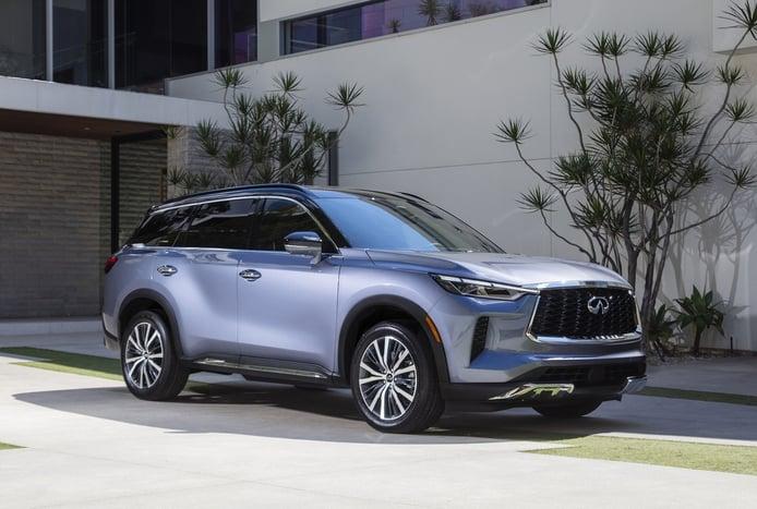 El nuevo infiniti QX60 2022 llega como un lujoso y tecnológico SUV de 7 plazas