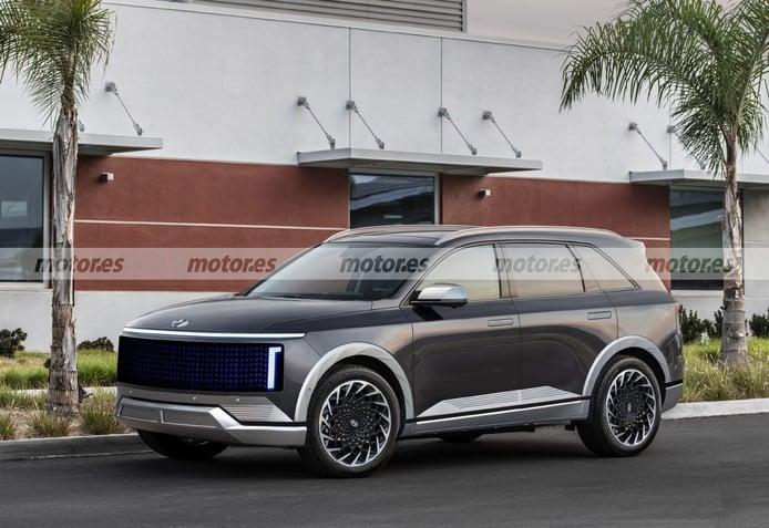 Adelanto del futuro Hyundai IONIQ 7, un SUV eléctrico de 7 plazas que llegará en 2024