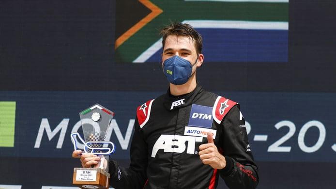 Kelvin Van der Linde se sitúa como primer líder de la era GT3 del DTM