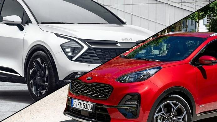 El KIA Sportage 2022 y su radical nuevo diseño, ¡así ha cambiado el popular SUV!