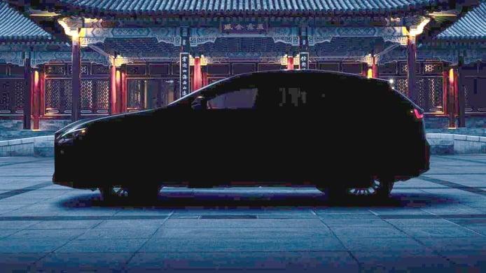 El futuro Lexus NX 2022 revela su silueta en su último teaser