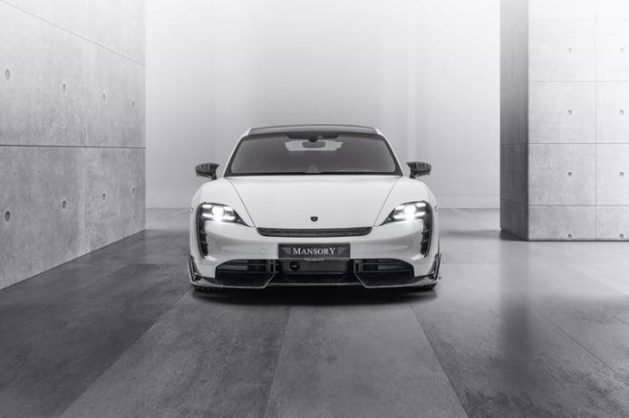 El Mansory Porsche Taycan apuesta por una personalización muy discreta