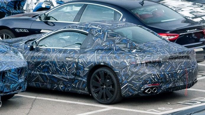 La zaga del nuevo Maserati GranTurismo 2022 al detalle en estas fotos espía