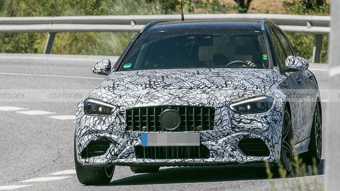 ¿Deportivo e híbrido? El nuevo Mercedes-AMG C 63 e Estate al detalle en estas fotos