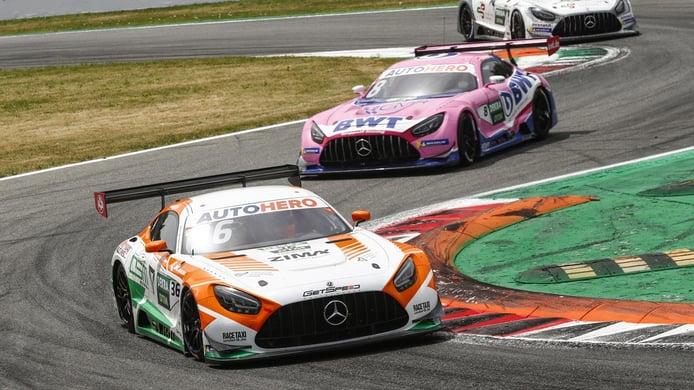 Mercedes critica el ajuste del 'BoP' realizado por el DTM en Monza