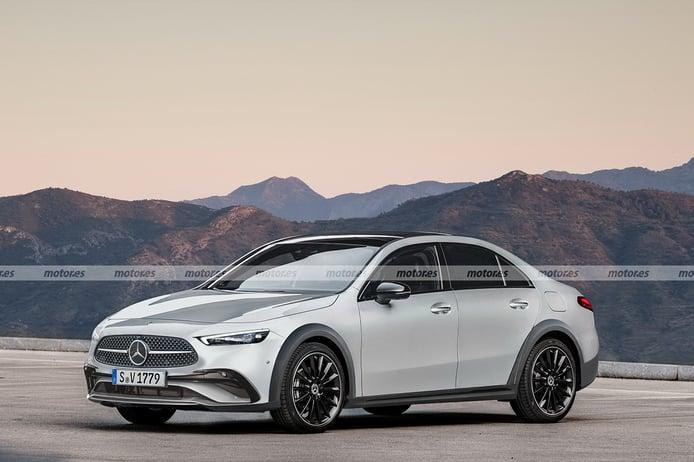 Echa un vistazo a este adelanto del futuro SUL de Mercedes para 2024