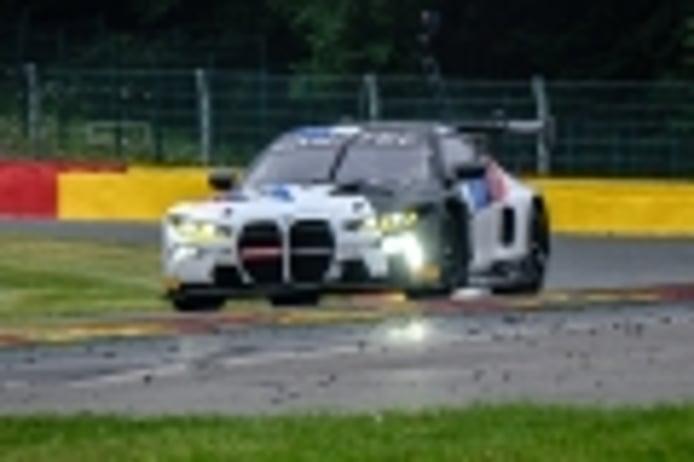 BMW lidera el test de las 24 Horas de Spa con relevo generacional incluido