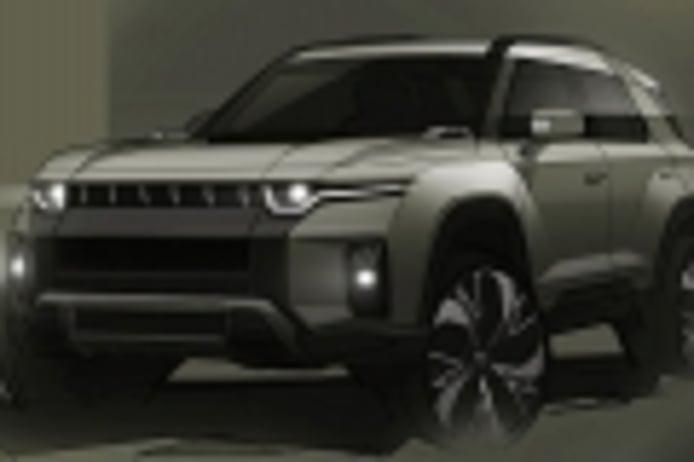Anunciado el SsangYong J100, un SUV eléctrico de aspecto rudo que llegará en 2022