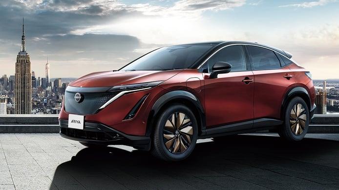 El nuevo Nissan Ariya Limited Edition irrumpe en Japón con numerosas novedades