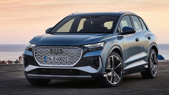 El SUV eléctrico Audi Q4 e-tron estrena las versiones con tracción total quattro