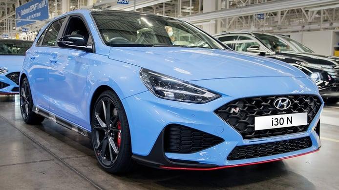 El nuevo Hyundai i30 N ya está siendo fabricado en Europa