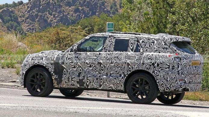 Foto espía Range Rover Sport 2023 - exterior