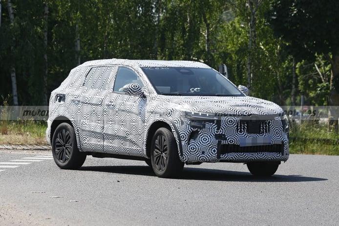 Los prototipos del futuro Renault Kadjar 2022 desde más cerca que nunca