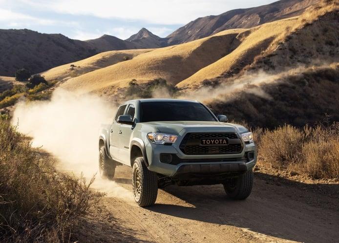 Toyota Tacoma Trail Edition 2022: mayor rendimiento off-road con un toque retro