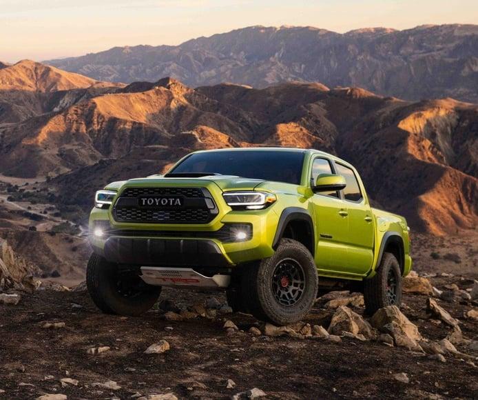 El renovado Toyota Tacoma TRD Pro 2022 llega más off-road que nunca