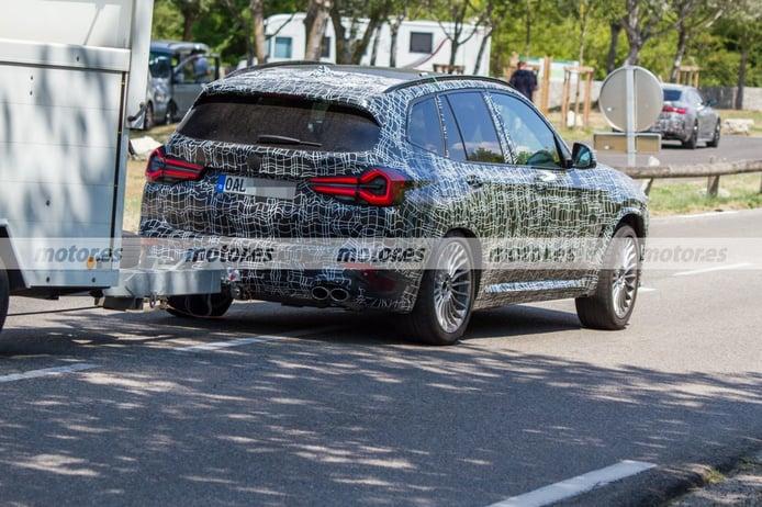 Foto espía Alpina XD3 Facelift 2022 - exterior