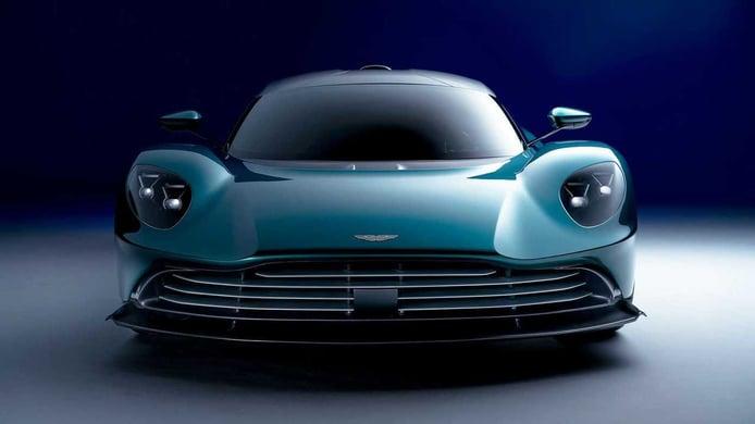The Aston Martin Valhalla arrives with a new 950 hp V8 hybrid mechanics