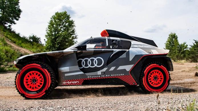 Audi RS Q e-tron: 4x4 electrificado para cambiar las normas del Dakar