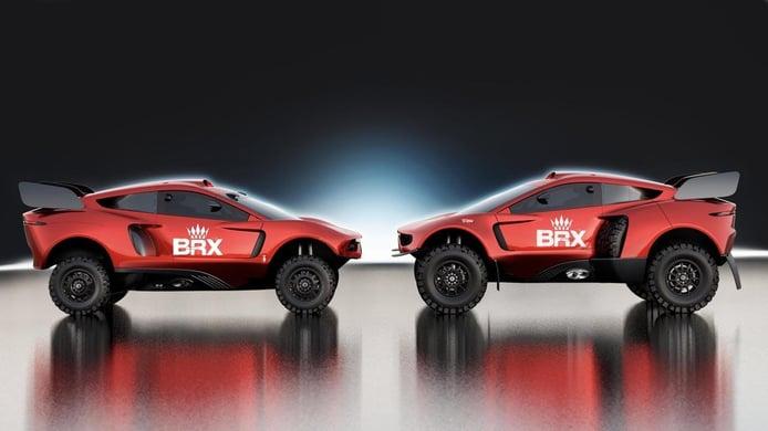 BRX Hunter T1+: Más ancho, más capaz. Prodrive va a por el Dakar 2022